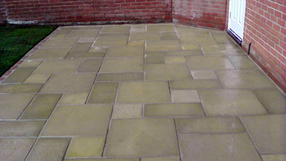 Fired Stone York Patio