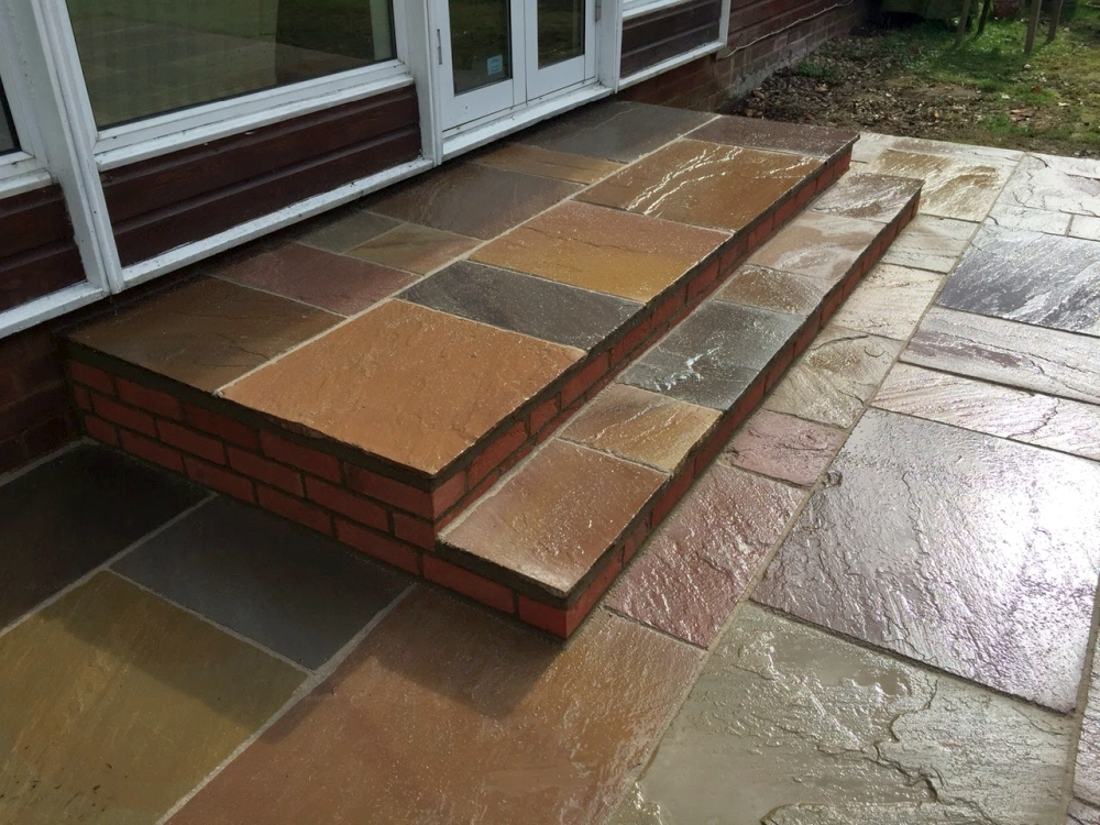 Indian Sandstone steps