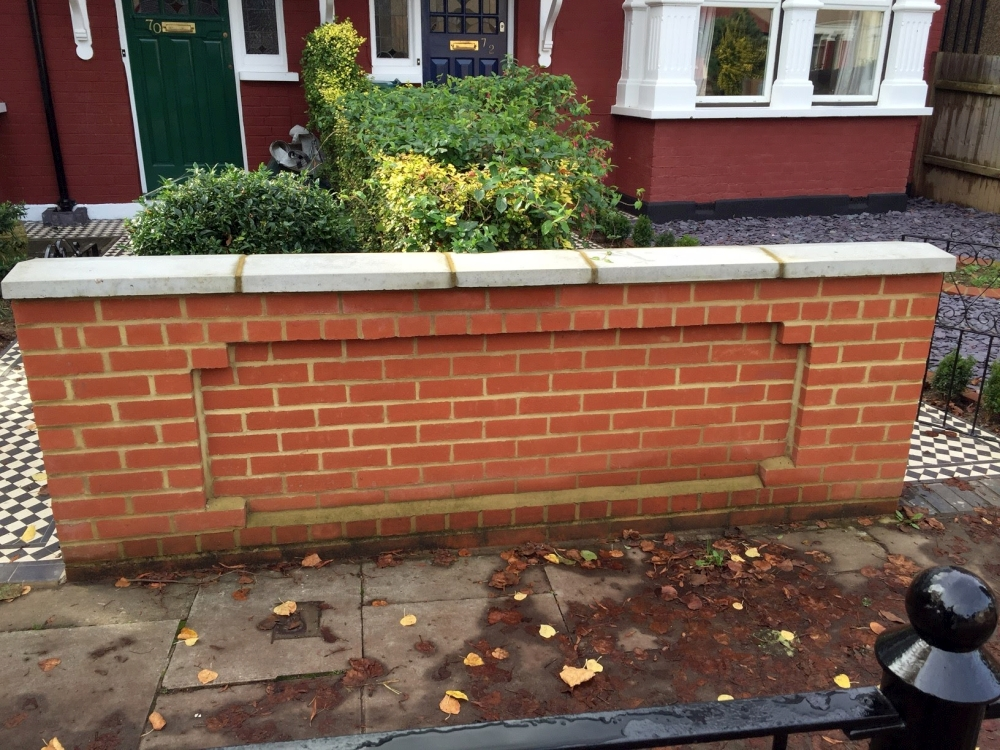 Wall - Windsor Red Brick